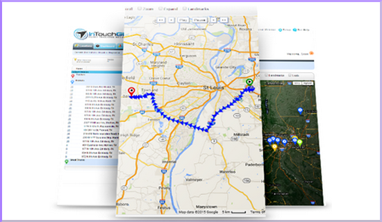 InTouch GPS Review: Best GPS Fleet Tracking for Business