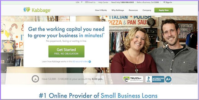 Kabbage Review: Best Alternative Lender for Lines of Credit